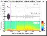 Землетрясение в Японии превратили в музыку