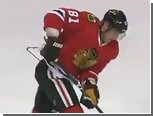 Игрок НХЛ перед матчем надел свитер вместе с вешалкой
