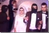 Египетская пара провела свадьбу в стиле «Исламского государства»