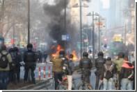 Более 70 полицейских ранены во время протестов у штаб-квартиры ЕЦБ