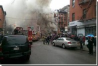 Взрыв частично обрушил пятиэтажный дом на Манхэттене