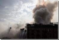 В Нью-Йорке при взрыве и последовавшем пожаре пострадали 19 человек
