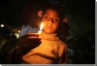 В сеть попало видео с ночными допросами палестинских детей израильскими военными