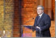 Президент Польши заявил о необходимости нового «плана Маршалла» для Украины