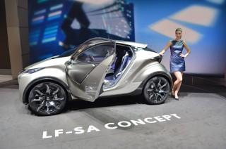 Lexus LF-SA — экономический эксперимент