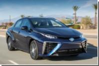 Toyota начала серийное производство водородного автомобиля