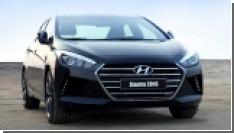 Первый снимок новой Hyundai Elantra