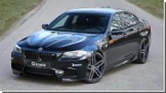 Тюнеры G-Power предложили BMW M5 в 740 «лошадей»