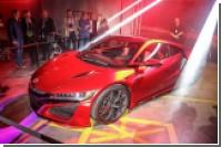 Спорткар Honda NSX получил 9-ступенчатую трансмиссию
