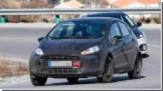 2017 Ford Fiesta впервые попалась фотошпионам