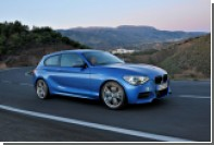 В Португалии  под прицел фотообъективов попал BMW 1-Series M Sport 2015