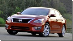 Nissan отзывает Altima из-за дефекта замка капота