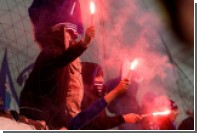 Немецкий фанат получил 1,5 года за использование пиротехники на стадионе