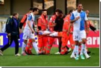 Итальянского футболиста прооперировали после открытого перелома ноги