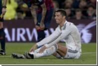 Роналду пригрозили наказанием за прикосновения к гениталиям