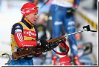 Россия заняла десятое место в первой гонке ЧМ по биатлону