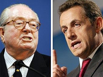 Саркози обвинили в союзе с Ле Пеном
