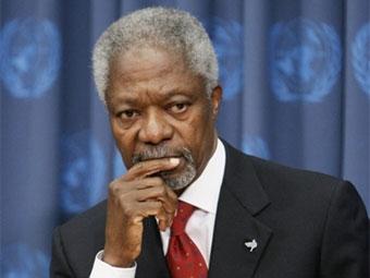 Кофи Аннан и МИД Швейцарии создают международное гуманитарное агентство