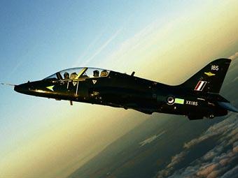 В Великобритании разбился военный самолет
