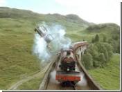 В поезде Гарри Поттера разбили окна