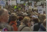 В Германии демонстрантов можно арендовать