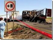 В Чиауа 24 человека сгорели в автобусе