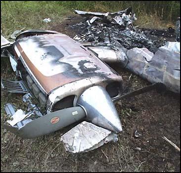 Крушение самолета во время авиашоу