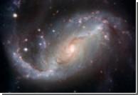 Hubble сфотографировал спиральную галактику