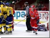 Сборная Быкова проиграла шведам первый матч финала Евротура