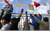 Зачинщик драки на митинге в Бишкеке признался, что делал это за деньги