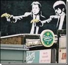 Рабочие уничтожили граффити всемирно известного мастера