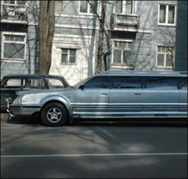 Украинец самостоятельно собрал лимузин. Фото