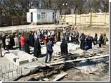 В Тирасполе освящен фундамент звонницы, которую построят при входе на Военно-исторический мемориальный комплекс