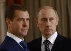 Кремлевские приколы. Путин приехал к Медведеву на «ё-мобиле»