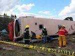 В перевернувшемся автобусе в Чили погибли 14 человек