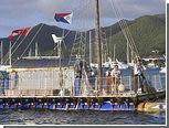 Британский пенсионер пересек Атлантику на плоту из труб