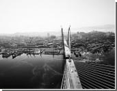 Закончен монтаж уникального моста во Владивостоке