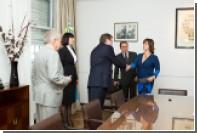 «ЕДАПС» презентовал новую акцизную марку Кабинету министров Аргентины