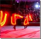 В цирке-шапито во время представления рухнула зрительская трибуна