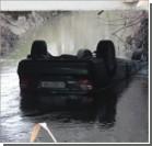 В Крыму с моста упал автомобиль со студентами-иностранцами
