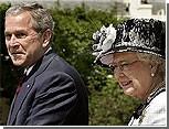 Английская королева провела встречу с Джорджем Бушем