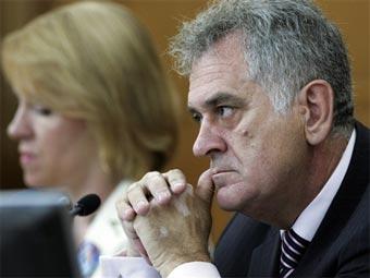 Сербский ультранационалист ушел с поста спикера