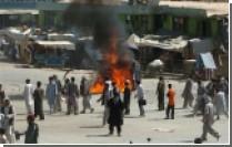 Афганиские полицейские расстреляли демонстрацию