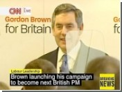 Гордон Браун дал старт своей предвыборной кампании