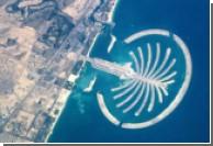 В Дубае пострадал от пожара остров-пальма
