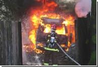 На пожаре в Дели погибли дети