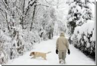 В Швейцарию снова пришла зима