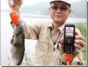 Корейцы научились ловить рыбу с помощью мобильников