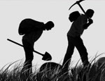 """Уральские милиционеры задержали группу """"черных"""" археологов с арсеналом оружия"""