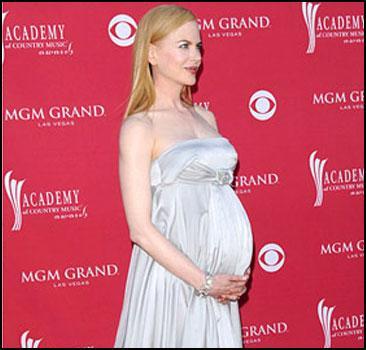 Беременная Кидман удивила всех. Фото
